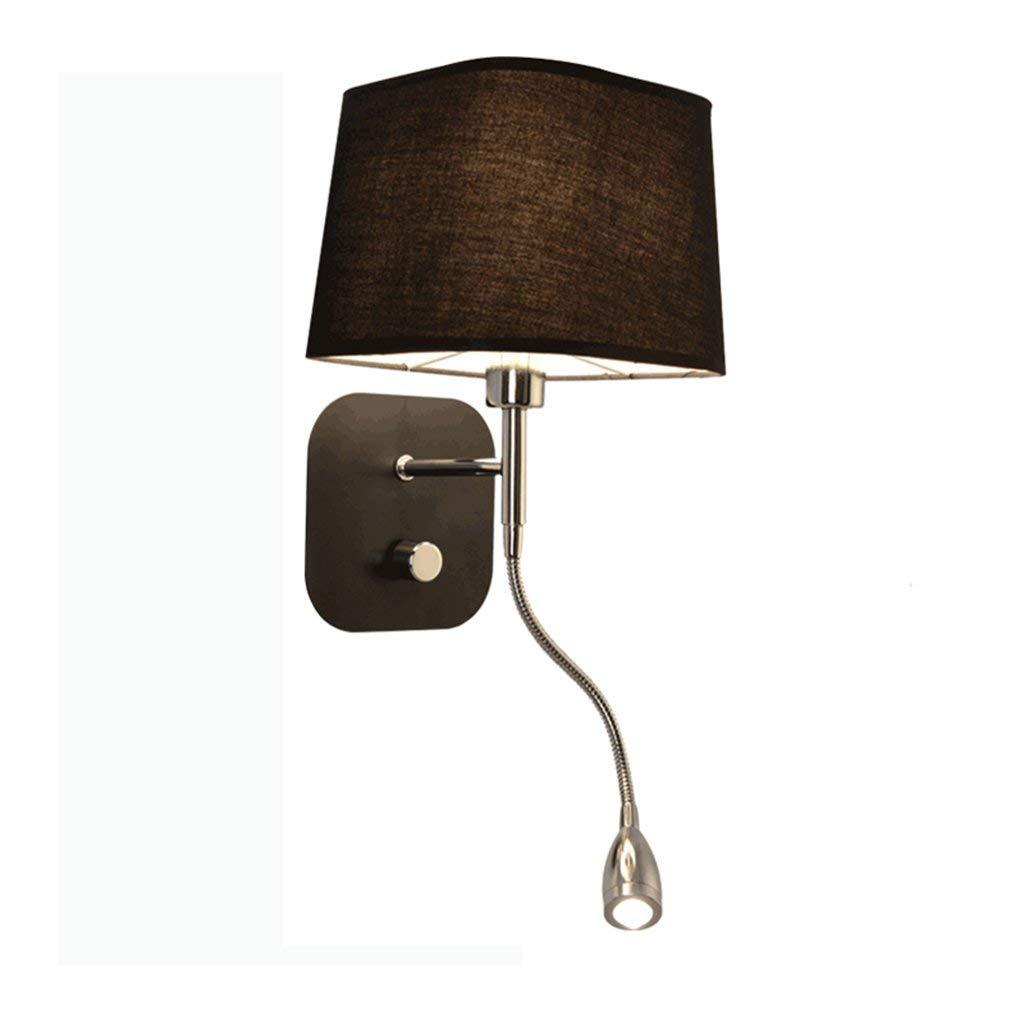 Wandleuchten Wandleuchte E14 LED-Leselampe, 3W Schlauch Wandleuchte Beleuchtung Winkel verstellbare Wand Nachttischlampe (Farbe  B)
