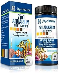 Stript Health 7-in-1 Aquarium Test Strips