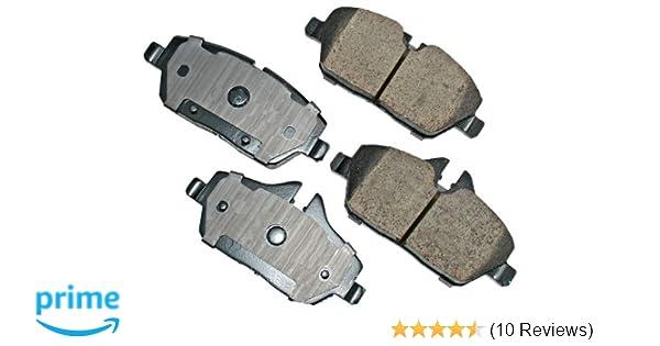 Disc Brake Pad Set-Euro Ultra Premium Ceramic Pads Front Akebono EUR1204