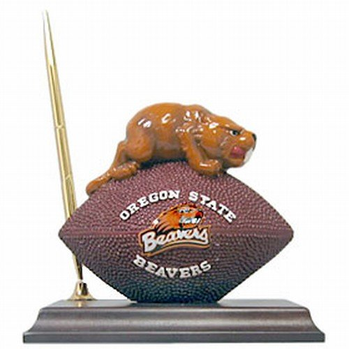 - Oregon State Beavers Mascot Football Clock/Pen