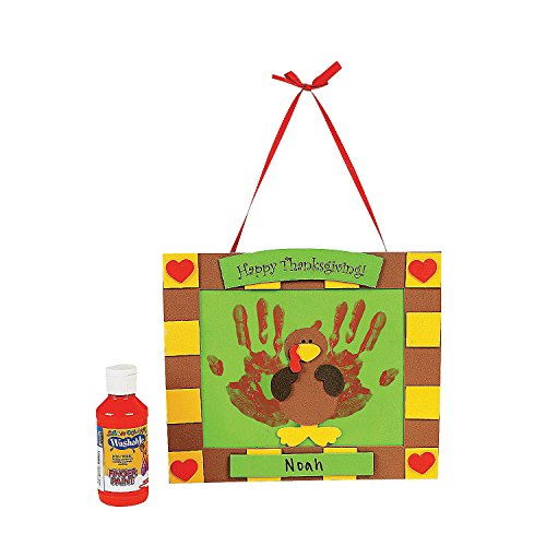 Handprint Fall Keepsake Craft Kit - Crafts for Kids & Decoration -