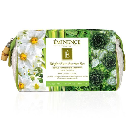 Eminence Bright Skin Starter Set (For Uneven Skin) 4pcs+1bag (Eminence Starter Set)