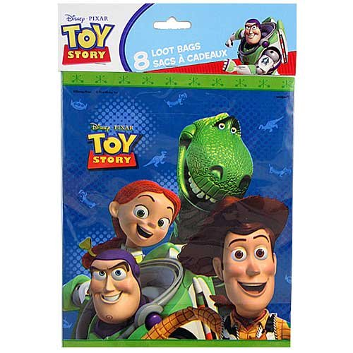 Toy Story Treat Loot Party Favor Bags - 8ct