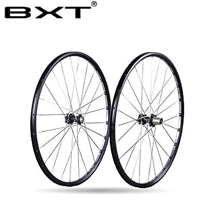 0688d55c7ab BXT Mountains Bike Suspension Fork 27.5 29 MTB Fork Straight Magnesium  Alloy disc Brake 27.5er