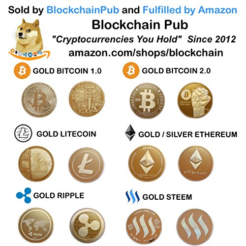 "Ethereum Coin – Gold & Silver Plated ""Cryptocurrencies You Hold"""