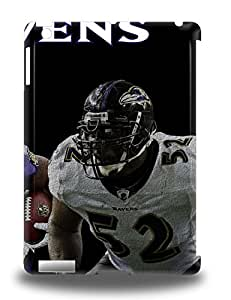 Ipad 3D PC Case Cover Protector For Ipad Air NFL Baltimore Ravens Ray Lewis #52 3D PC Case ( Custom Picture iPhone 6, iPhone 6 PLUS, iPhone 5, iPhone 5S, iPhone 5C, iPhone 4, iPhone 4S,Galaxy S6,Galaxy S5,Galaxy S4,Galaxy S3,Note 3,iPad Mini-Mini 2,iPad Air )