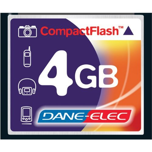 NEW 4GB CompactFlash Memory Card