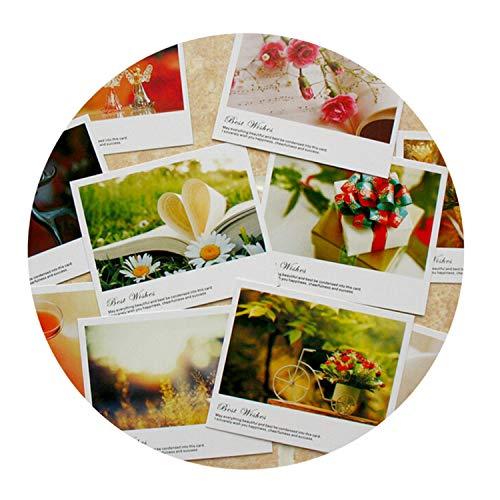 (Accessory-Gitfs Decoration 10 Pcs/Lot Mini Paper Postcard Birthday Greeting Card Tank You Message Card LOMO Gift Cards 119Cm)