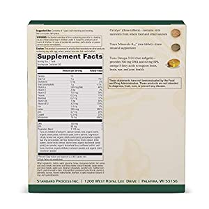 Standard Process - General Health Daily Fundamentals - 60 Pack