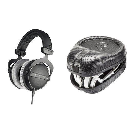 Dt Pro Headphones 770 (beyerdynamic DT 770 Pro 80 ohm Studio Headphones Bundle with Headphone Case)