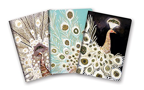 Studio Oh! 3-Pack Notebooks in Coordinating Designs Available in 12 Different Bundles, Eli Halpin Peacocks