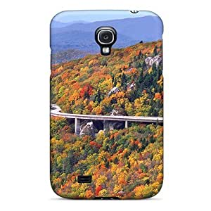 New Shockproof Protection Case Cover For Galaxy S4/ Linn Cove Viaduct Highway In North Carolina Case Cover