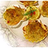 Miss Sallys St Jacque Raw Natural Scallop in Shell Appetizer, 6.25 Pound - 1 each.