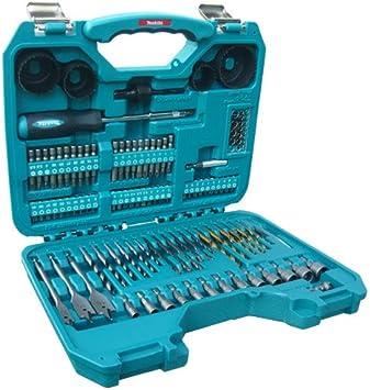 Makita - Lote de accesorios para taladro (100 piezas): Amazon.es: Bricolaje y herramientas