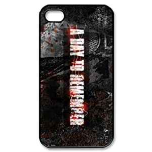 Customize Famous Rock Band A Day To Remember Back Case for iphone4 4S JN4S-1731
