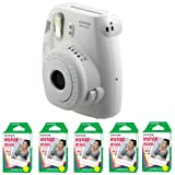 Fujifilm FU64-MINI8WK100 INSTAX MINI 8 Camera and Film Kit with 100 Exposures (White)