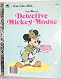 img - for Walt Disney's Detective Mickey Mouse (A Little Golden Book) book / textbook / text book