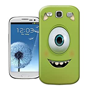 Hard Plastic Samsung Galaxy S3 Case, Fate Inn-357.Mike Wazowski-Samsung Galaxy S3 case