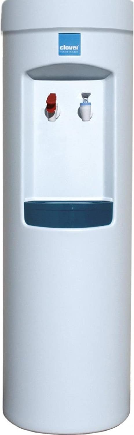 Clover D7A Water Dispenser -Hot and Cold, Bottleless With Install Kit -White