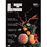 Louis Tellier DVD01 Lot de 2 DVDs Cours de Sculpture sur Fruits et Légumes