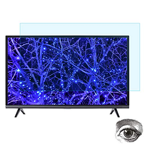 "32 Inch TV Blue Light Screen Protector, Eye Protection Blue Light Protector Blocks Reduce Eye Fatigue and Eye Strain for 32"" LCD, LED, OLED & QLED 4K HDTV ()"