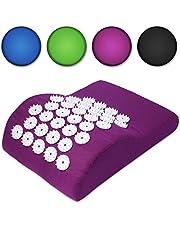 Belmalia Acupressuurkussen voor schouders en nek, nekrol, massage-kussen, ontspanningskussen, TCM