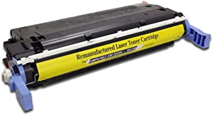 SpeedyToner Remanufactured Toner Cartridge Replacement for HP C9722A ( Yellow )