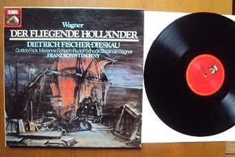 Der Fliegende Holländer. Franz Konwitschny, Fischer Dieskau, Frick, Schech, Schock, Wagner, Wunderlich Stereo