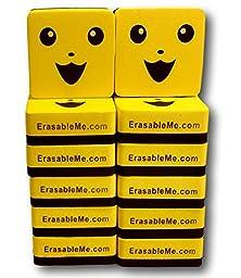 Whiteboard Dry Eraser | Set of (12) 2\' X 2\