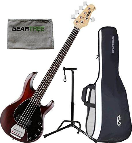 String Bass Guitar Walnut Satin - 3