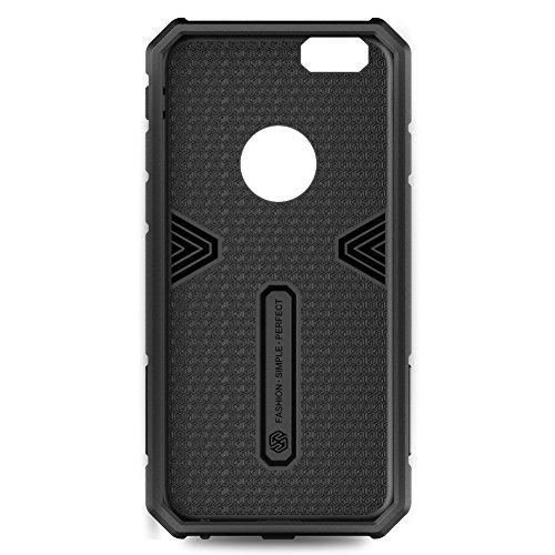 Nillkin Impact Hybrid Armor Defender Case for Apple iPhone 6 (4.7-Inch) - Black