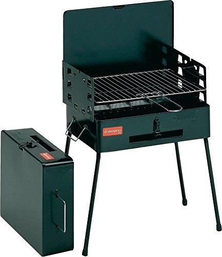 Ferraboli 8130000 40 x 30 cm Barbecue Picnic - Black