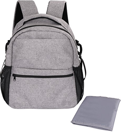 Baby Diaper Backpack Bag Grey product image