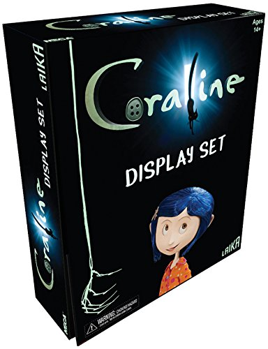 Coraline Doll and Display Set Neca Exclusive SDCC 2017