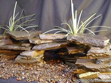 Amazon Com 15 Pc Diy Cave Kit All Natural Stone Aquarium Aquascape Diy Kit Aquarium Safe All Natural Stone Organic Terrarium Iwagumi Aquarium Cichlid Cave Pleco Cave Aquarium Decor Ornaments Pet Supplies