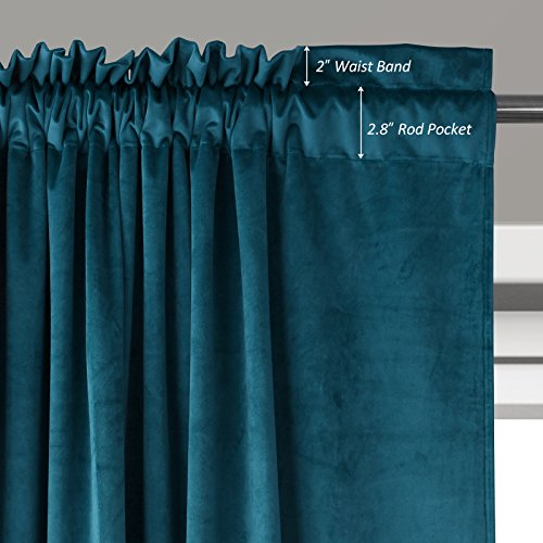 blue image uk velvet curtain peacock kitchen for curtains embroidered yarn full luxury drapes sheer embossed