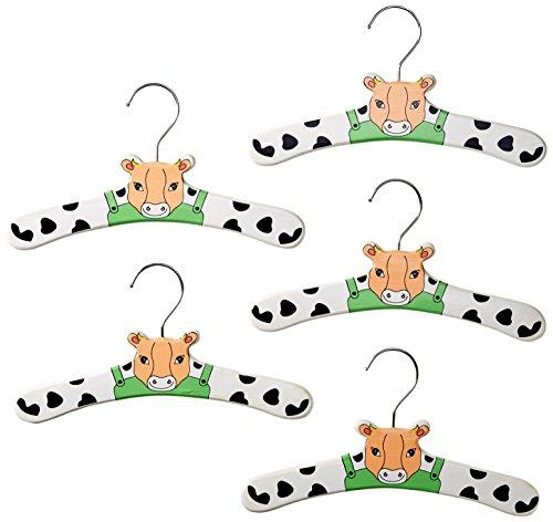 Kidorable Baby Infant Hanger Set, Cow, Small