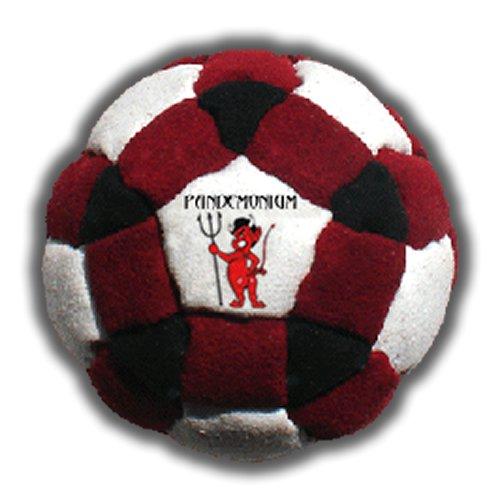 Avalanche Footbag 62 Panels Hacky Sack Pro Bag Pellets & Iron Weighted At 2.1 Onces