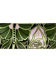 Jane Inc. Silk Eye Pillow - Lavender Filled - Nouveau Pink & Green