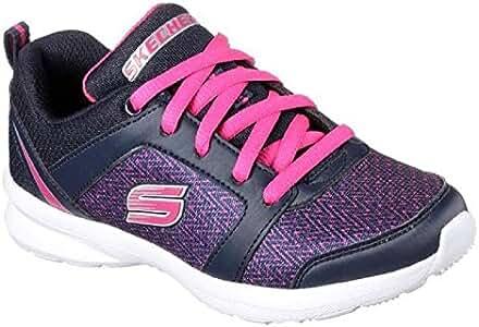 Skechers Zapatillas de Lona para niña Azul Azul Marino 28
