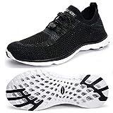 SHUFER Women's Quick Drying Aqua Water Shoes Outdoor Walking Sneakers