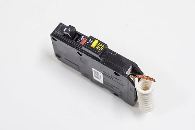 QO120GFI Square D QO 20Amp 1-pole GFI breaker
