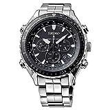 Seiko SSG001 Mens Radio Sync Solar Chronograph Watch