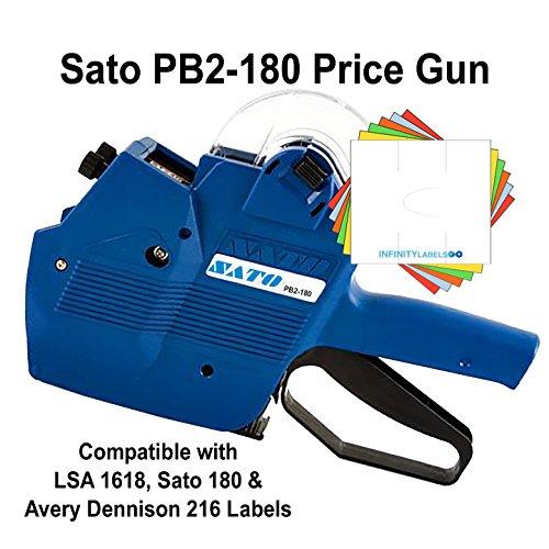 Sato Price Guns (10): TSA180 (PB2-180) Bulk PRICING [2 Line / 8/8 Characters] by Infinity Labels