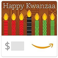 Kwanzaa Candles eGift card link image