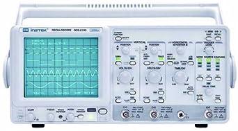 Instek GOS-6103 Portable Analog Oscilloscope, 100MHz