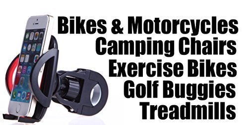 Iphone-Andriod-Holder-Mobile-Phone-Mount-Bracket-Bike-Accessories-Motorcycle-Phone-Mount-Golf-Carts-Buggies-Electric-Scooters-Treadmills