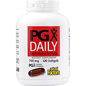 Natural Factors PGX Daily Ultra Matrix 750mg Supports Appetite Control