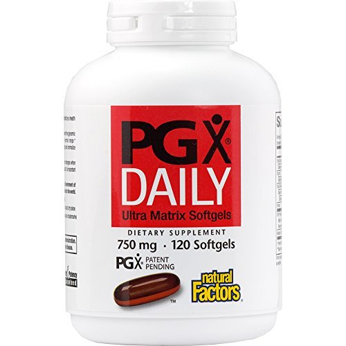 Natural Factors PGX Daily Ultra Matrix 750mg, Helps to Promote a Feeling of Fullness, 240 Soft Gels