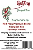 2 Quarts Red Frog Premium Blend Compost Tea-All Purpose Plant & Hydroponics Feed;All Natural & Organic Blend, Blended w/Best Feeds & Trace Minerals for All Fertilizer/Soil Amendment Needs offers